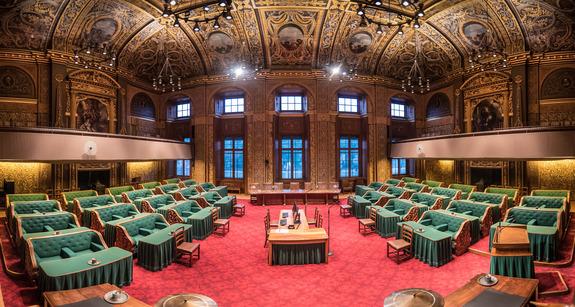 Eerste Kamer der Staten-Generaal - Eerste Kamer schrapt vergaderingen 17 ,  24 en 31 maart