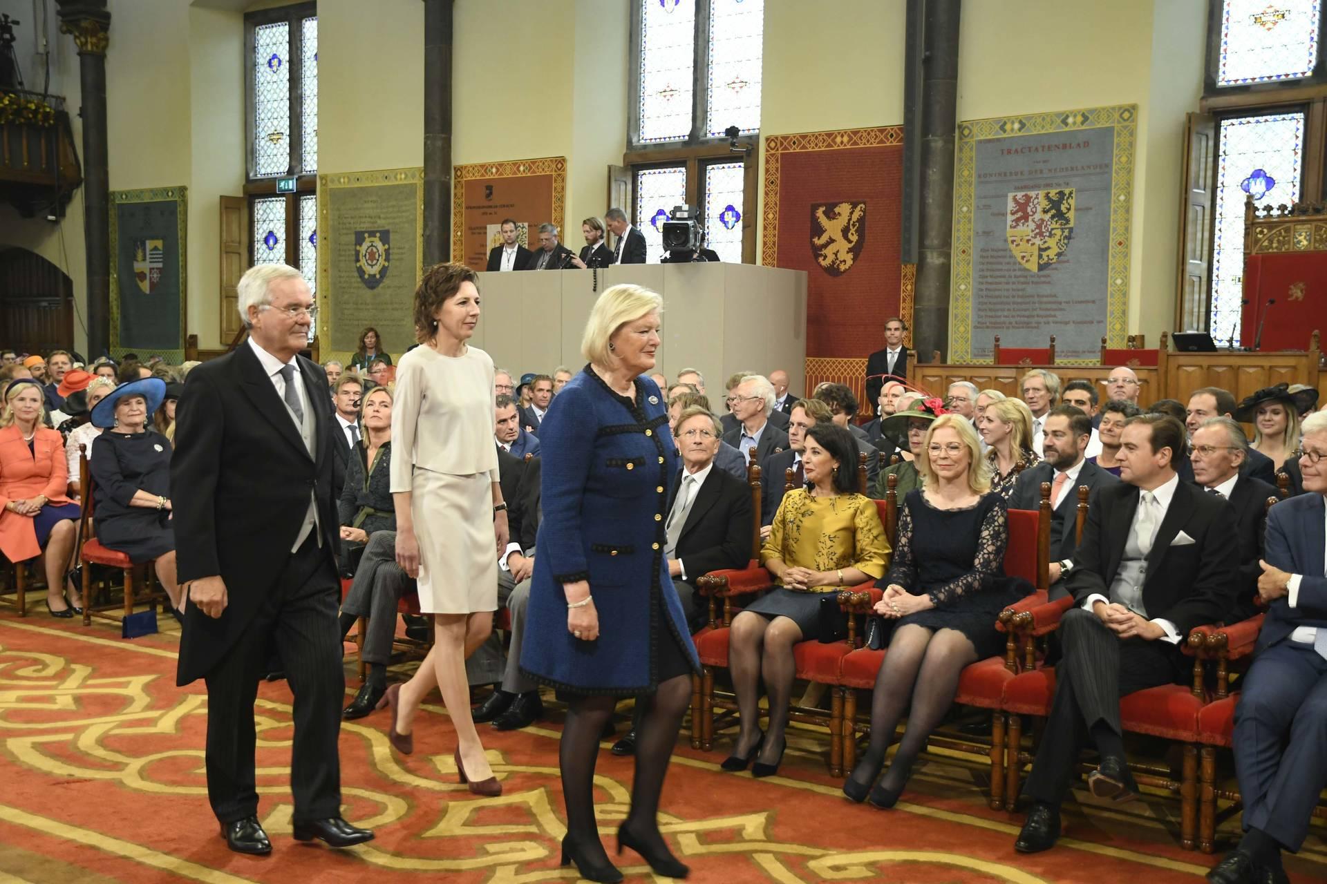 Eerste kamer der staten generaal verenigde vergadering prinsjesdag