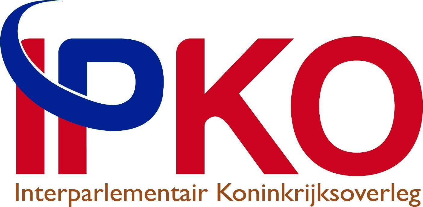 Logo Interparlementair Koninkrijksoverleg (IPKO)