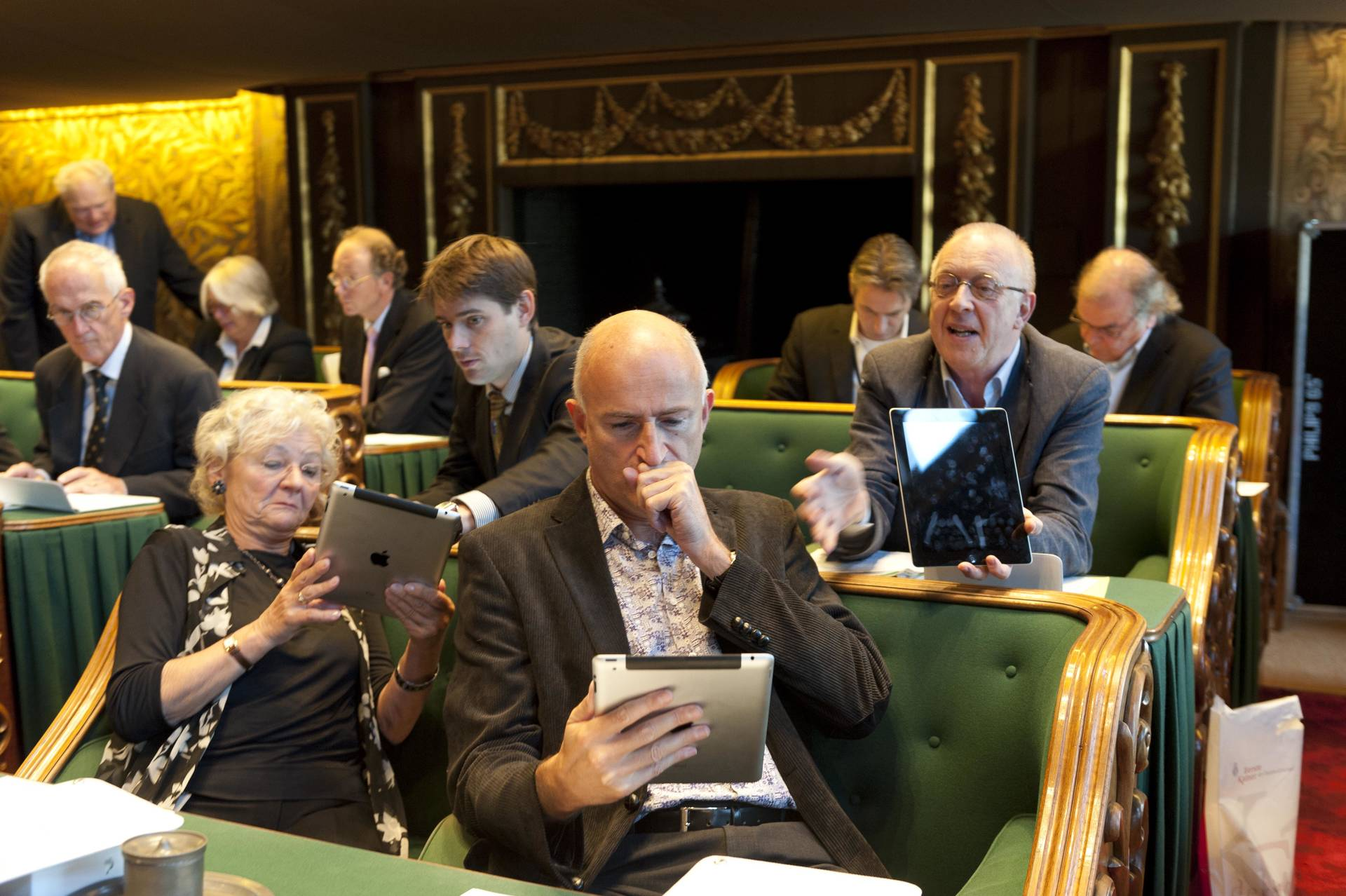 Introductie iPad in Eerste Kamer