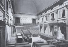 eerste kamer der statengeneraal geschiedenis prinsjesdag